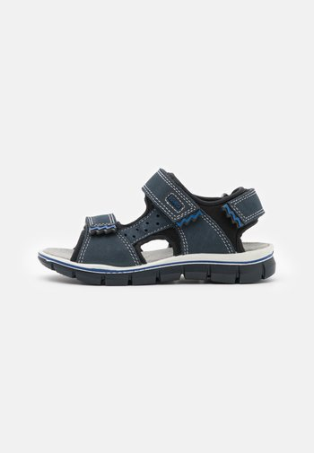 Sandals - azzurro/nero