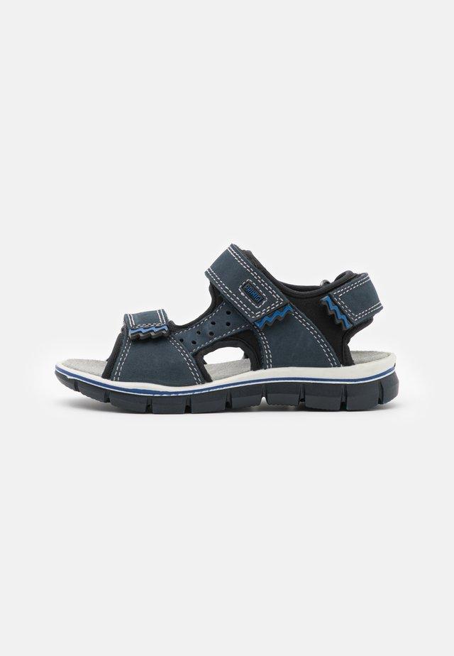 Sandalen - azzurro/nero