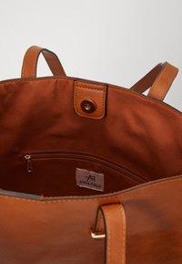 Anna Field - Shoppingveske - cognac - 3