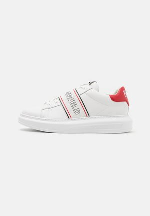 KAPRI MENS BAND LACE - Baskets basses - white