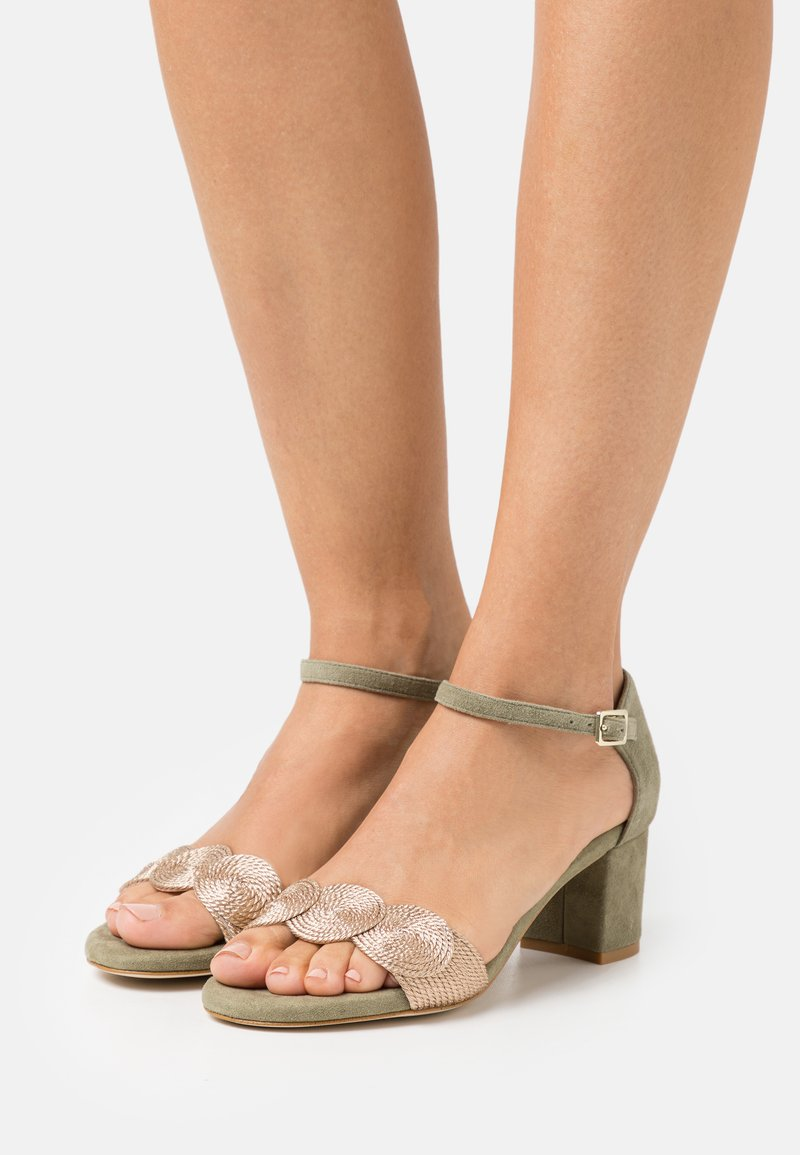 Anna Field - LEATHER COMFORT - Sandals - green