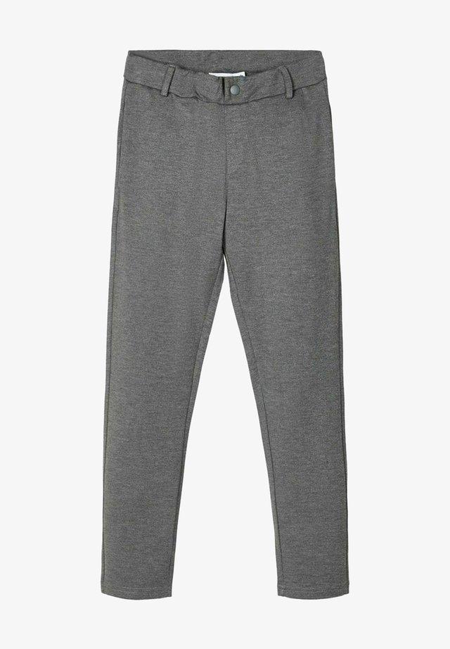 Chino - dark grey melange