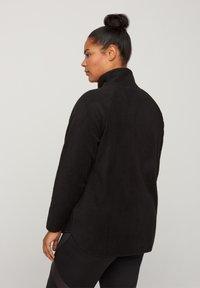 Active by Zizzi - Fleece jacket - black - 2