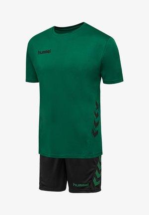 Sports shorts - evergreen/black