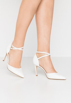 LEATHER PUMPS - Decolleté - white