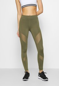 Even&Odd active - Leggings - olive - 0