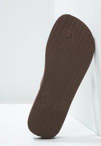 Havaianas - TOP - Pool shoes - dark brown - 4