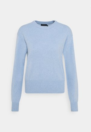 Strickpullover - blue heather