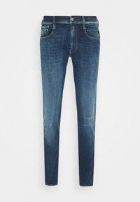 ANBASS HYPERFLEX RE-USED - Slim fit jeans - dark blue denim