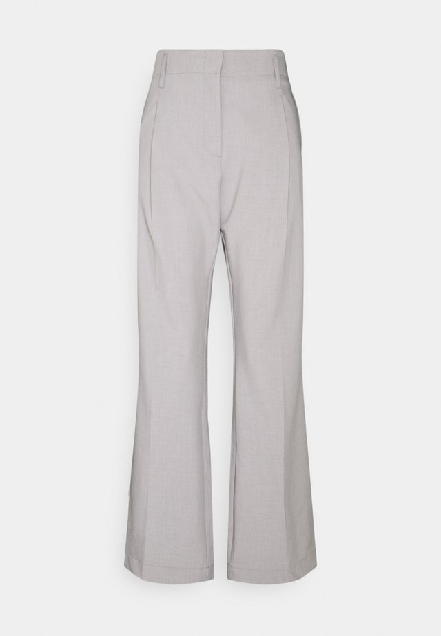 NUE PANTS - Pantalones - light grey