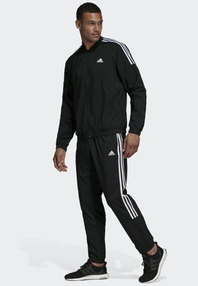 Light Woven Track Suit - Tracksuit - black