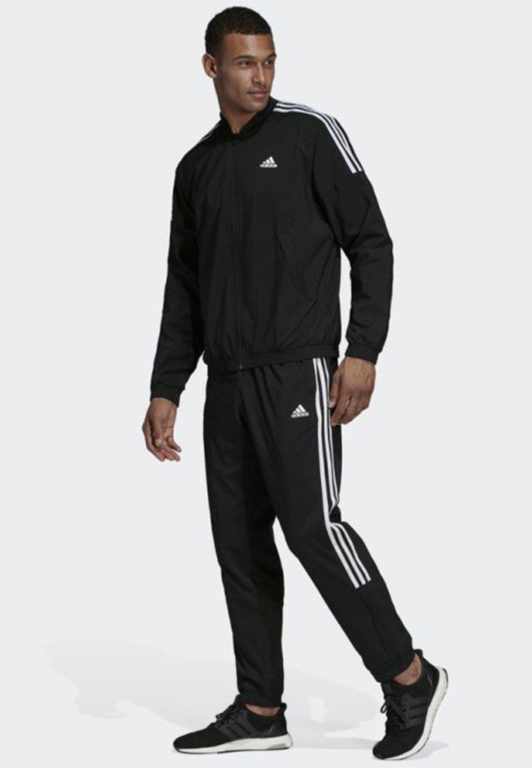 adidas Performance - Light Woven Track Suit - Träningsset - black