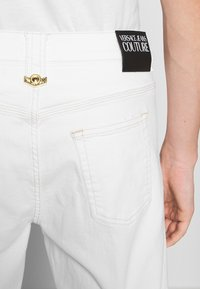 Versace Jeans Couture - ICON - Straight leg jeans - white - 3