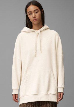 Hoodie - beige melange