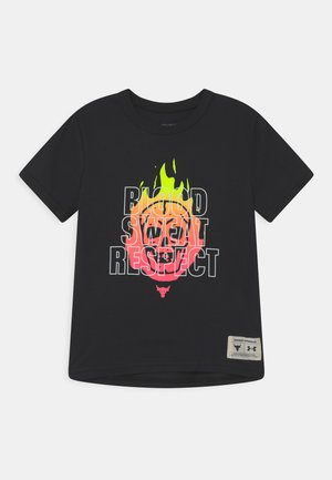 PROJECT ROCK - Camiseta estampada - black