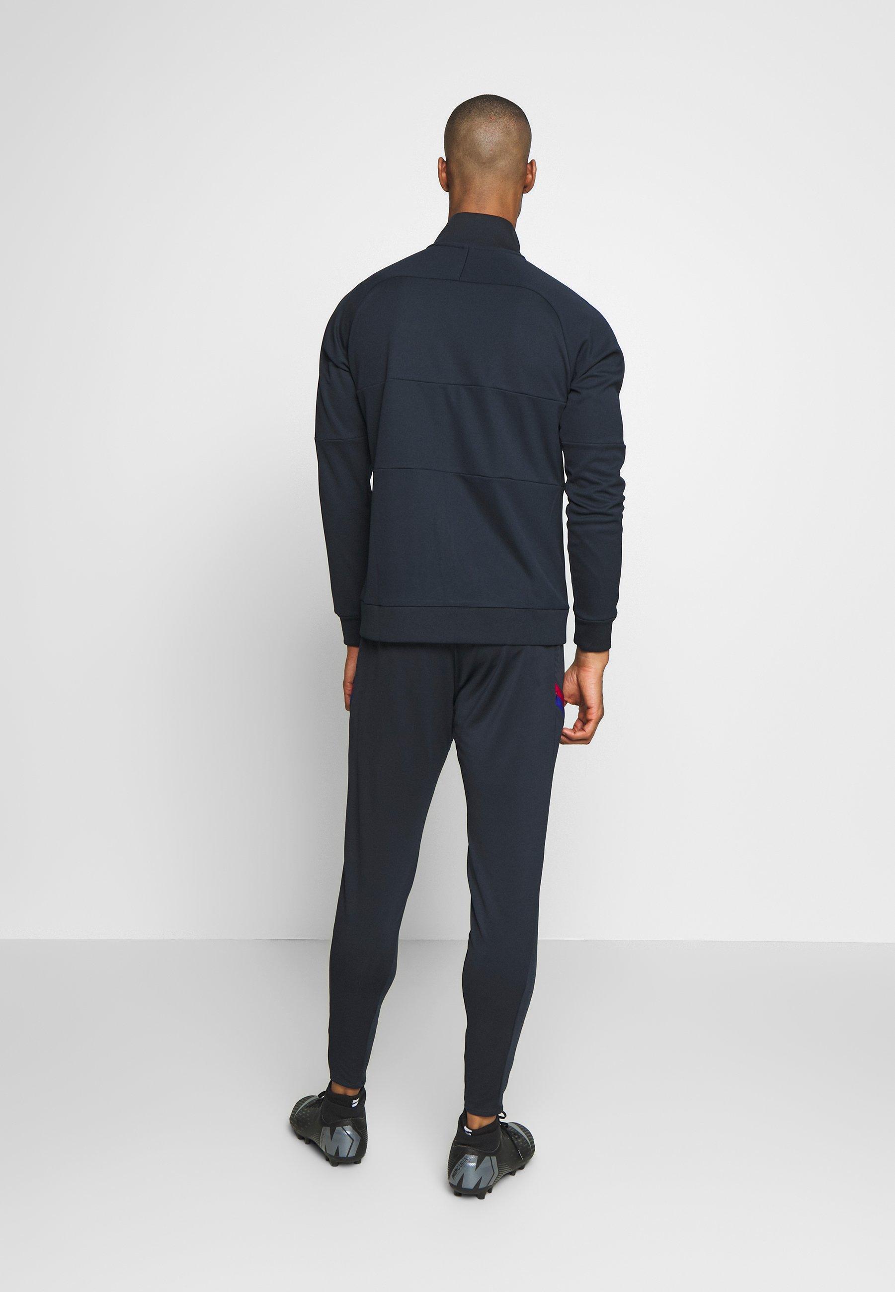 Nike Performance FC BARCELONA DRY PANT - Pantalon de survêtement - dark obsidian/sonic yellow