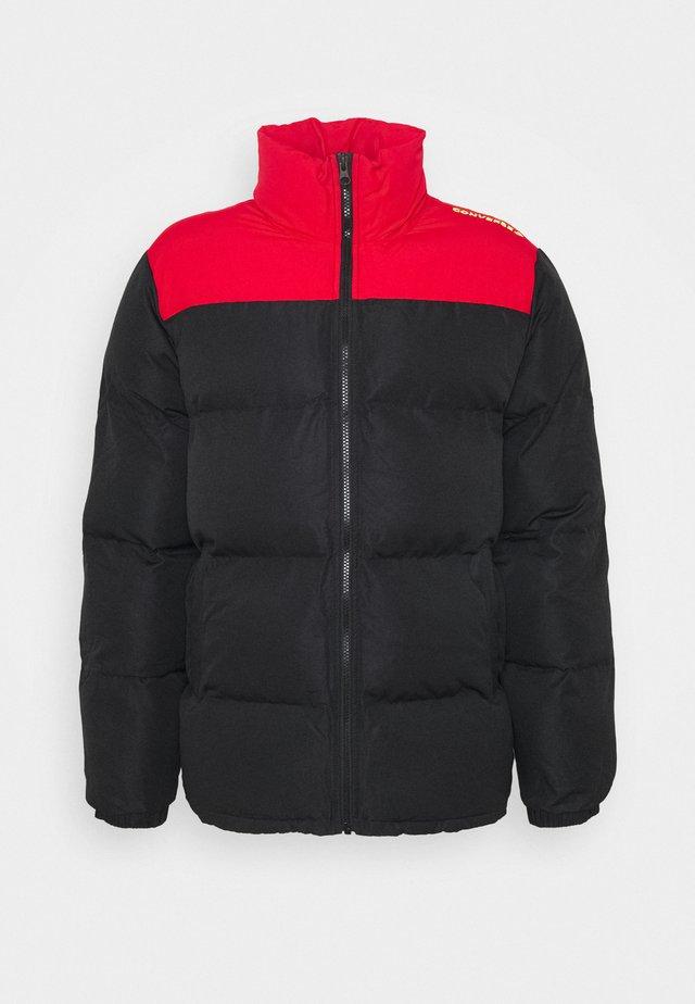 Kurtka zimowa - black/red