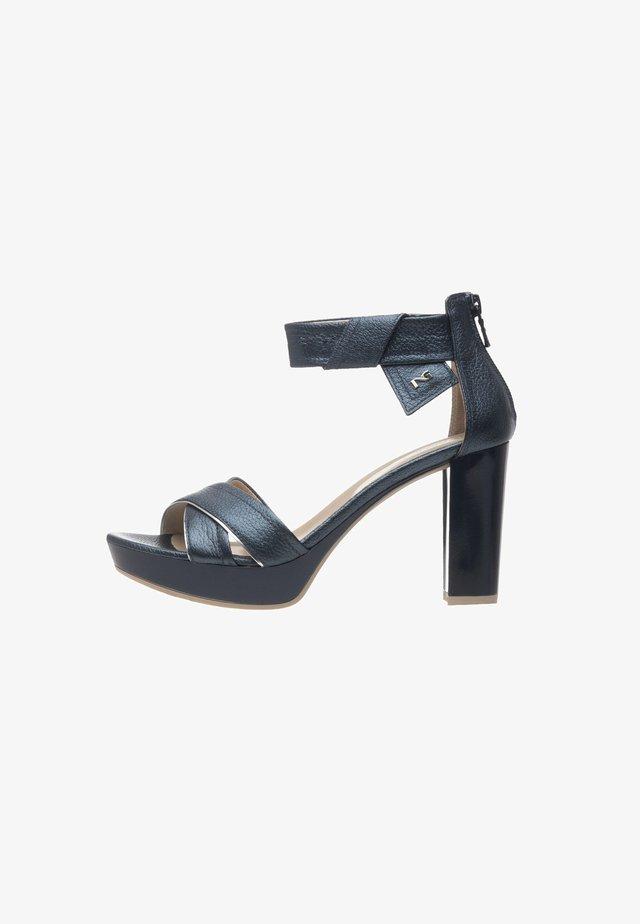 Platform sandals - oceano