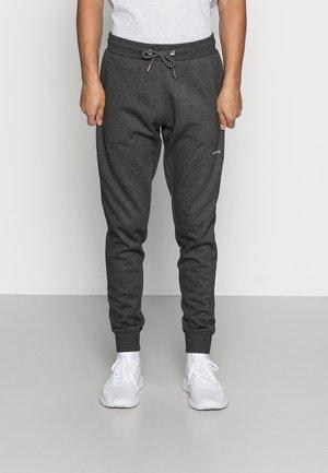 MARC PANTS - Spodnie treningowe - dark grey melange