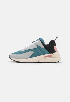 S-SERENDIPITY LOW CU - Sneakers laag - grey/turquoise