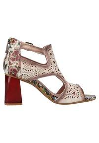 LAURA VITA - Sandalen met enkelbandjes - beige - 3