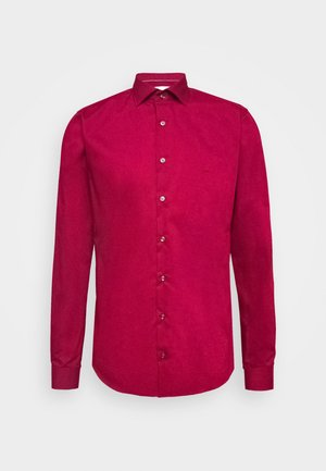 POPLIN SLIM - Camicia - rumba red