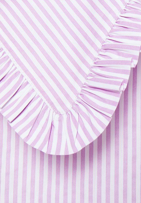 Pieces Maternity PCMHUNDA - Koszula - bright white/orchid/biały CVQE