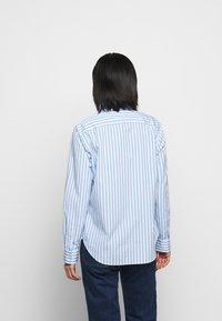 Polo Ralph Lauren - GEORGIA LONG SLEEVE - Chemisier - blue/white - 2