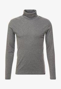 LONGSLEEVE TURTLENECK - Long sleeved top - graphite grey melange