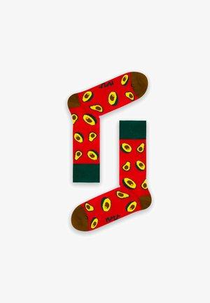 AVOCADO - Socks - red / yellow