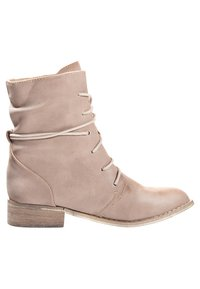 Even&Odd - Lace-up ankle boots - sand - 3