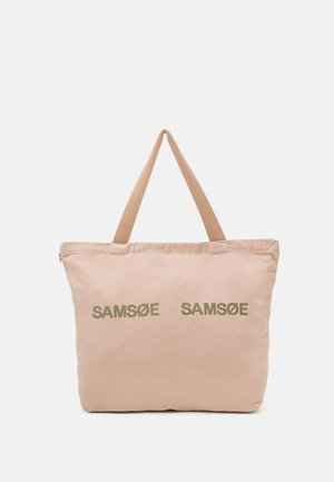 FRINKA SHOPPER  - Tote bag - mahogany/rose