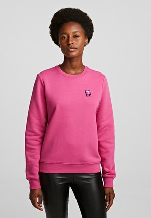 Sweatshirt - rose violet