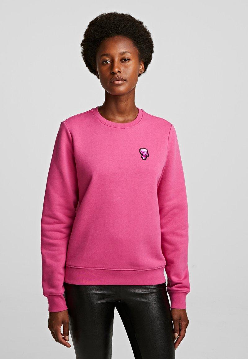 KARL LAGERFELD - Bluza - rose violet