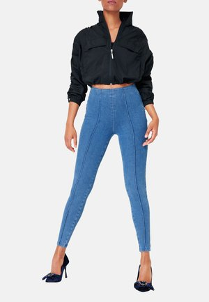 CLEAN HIGH RISE - Jeans Skinny Fit - crushed blue