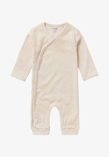 NEVIS - Sleep suit - ras oatmeal