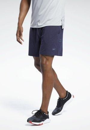LES MILLS® DREAMBLEND COTTON SHORTS - Korte sportsbukser - blue