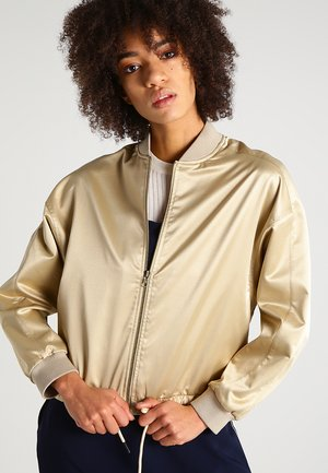 Bomber Jacket - gold