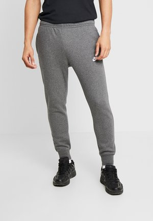 CLUB - Tracksuit bottoms - charcoal heather/anthracite/white