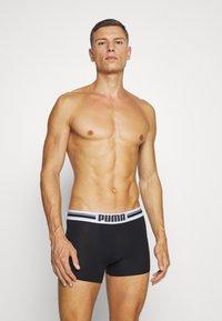 Puma - PLACED LOGO BOXER 6 PACK - Culotte - blue/black/red - 4