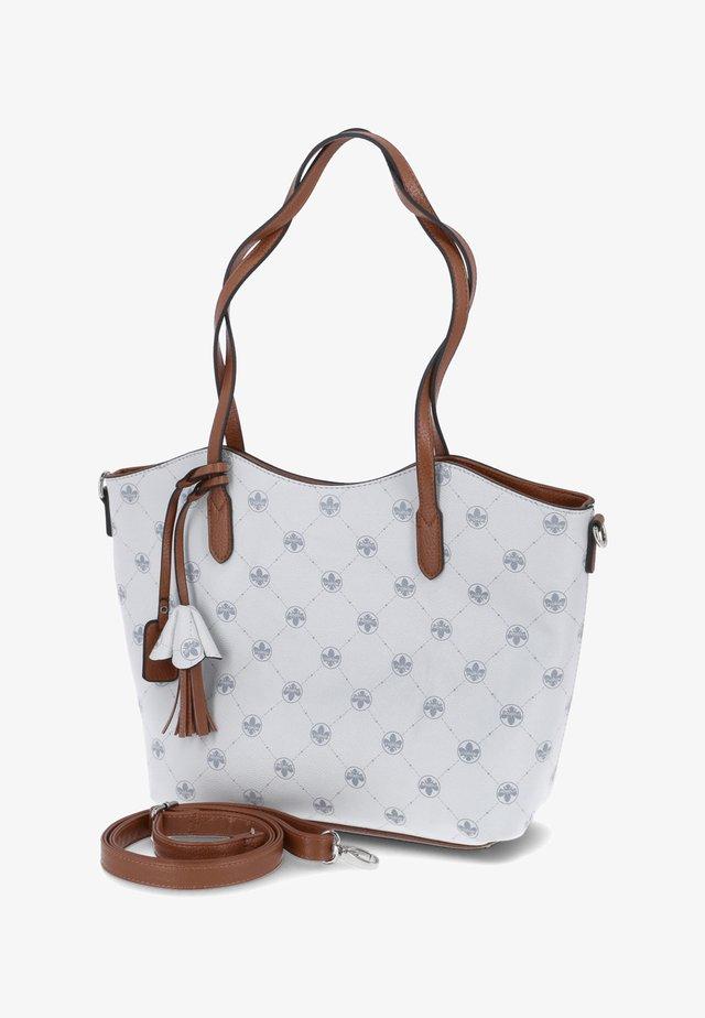 Shopper - weiß-kombi