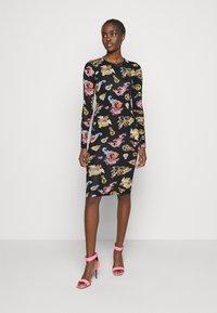 Versace Jeans Couture - LADY DRESS - Jersey dress - black - 0