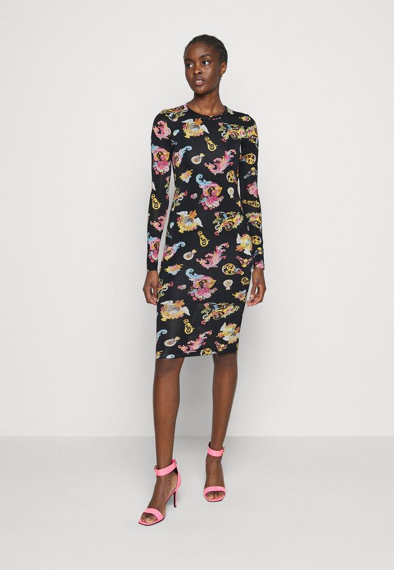Versace Jeans Couture - LADY DRESS - Jersey dress - black