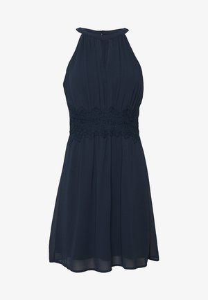 VIMILINA HALTERNECK DRESS - Cocktailkleid/festliches Kleid - total eclipse