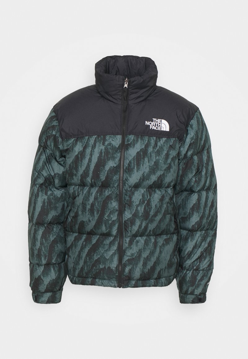 The North Face - PRINTED 1996 RETRO NUPTSE JACKET UNISEX - Down jacket - balsam green