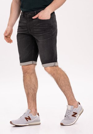Jeansshort - graphite