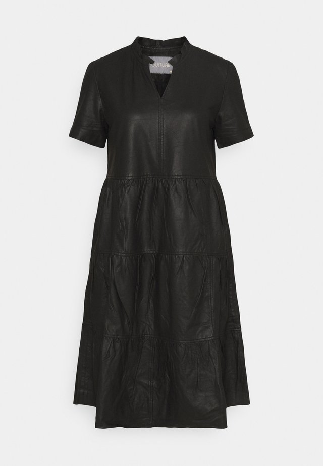 ALINA DRESS - Korte jurk - black