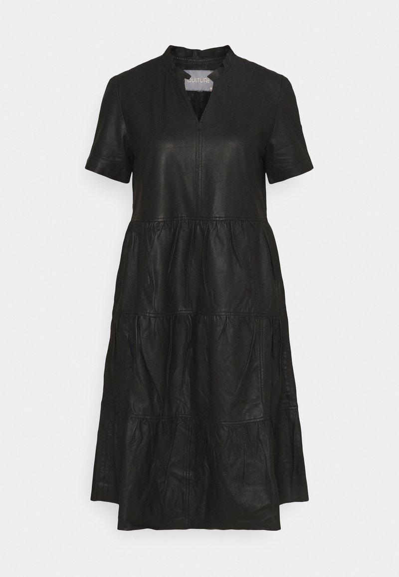 Culture - ALINA DRESS - Day dress - black