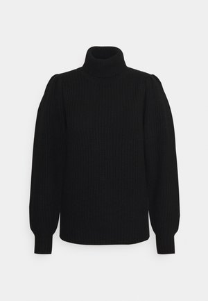 LUCY PUFF - Sweter - black