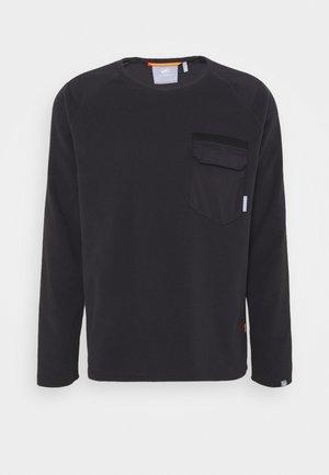INNOMINATA LIGHT CREW NECK MEN - Bluza z polaru - black